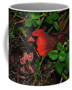I Have My Eye On You Coffee Mug by Frozen in Time Fine Art Photography