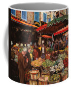 Il Mercato Di Quartiere Coffee Mug by Guido Borelli