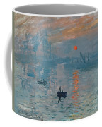 Impression Sunrise Coffee Mug by Claude Monet