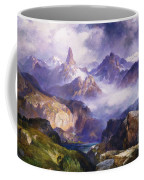 Index Peak Yellowstone National Park Coffee Mug by Thomas Moran