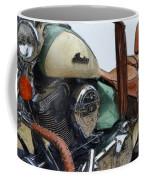 Indian Chief Vintage L Coffee Mug by Michelle Calkins