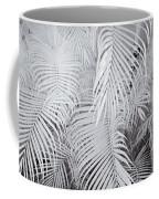 Infrared Palm Abstract Coffee Mug by Adam Romanowicz