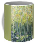 Into The Aspens Coffee Mug by Mary Benke