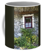 Irish Cottage Window County Clare Ireland Coffee Mug by Teresa Mucha