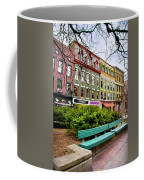 Ithaca Commons Coffee Mug by Christina Rollo