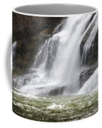 Ithaca Falls On Fall Creek - Mountain Showers Coffee Mug by Christina Rollo