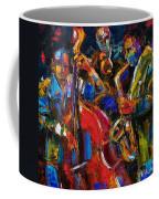 Jazz Coffee Mug by Debra Hurd