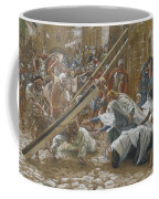 Jesus Meets His Mother Coffee Mug by Tissot