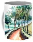 Jogging Track Coffee Mug by Anil Nene