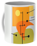 Juxtaposing Thoughts Coffee Mug by Richard Rizzo