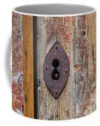Key Hole Coffee Mug by Carlos Caetano