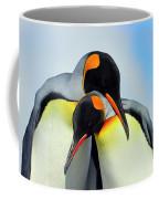 King Penguin Coffee Mug by Tony Beck