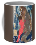 Kintoki Swims Up The Waterfall Coffee Mug by Kuniyoshi