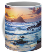 Koki Beach Harmony Coffee Mug by Inge Johnsson