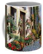 La Strada Del Lago Coffee Mug by Guido Borelli