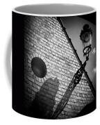Lamp With Shadow Coffee Mug by Dave Bowman
