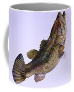 Largemouth Bass Side Profile Coffee Mug by Corey Ford