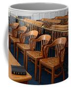 Lawyer - The Courtroom Coffee Mug by Paul Ward