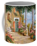 Le Colonne Sulla Terrazza Coffee Mug by Guido Borelli