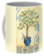 Lemon Tree Of Life Coffee Mug by Debbie DeWitt