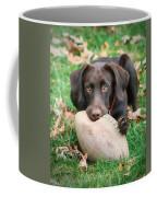 Let's Play Football Coffee Mug by Lori Deiter