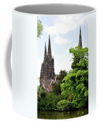 Lichfield Cathedral From Minster Pool Coffee Mug by Rod Johnson