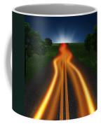 Long Road In Twilight Coffee Mug by Setsiri Silapasuwanchai