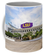 Lsu Tiger Stadium Coffee Mug by Scott Pellegrin