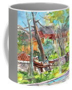 Lucca In Italy 04 Coffee Mug by Miki De Goodaboom