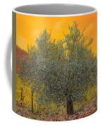 L'ulivo Tra Le Vigne Coffee Mug by Guido Borelli