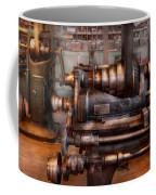 Machinist - Steampunk - 5 Speed Semi Automatic Coffee Mug by Mike Savad