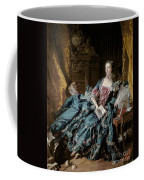 Madame De Pompadour Coffee Mug by Francois Boucher