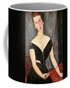 Madame G Van Muyden Coffee Mug by Amedeo Modigliani