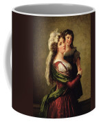 Madame Rousseau And Her Daughter Coffee Mug by Elisabeth Louise Vigee Lebrun