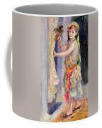Mademoiselle Fleury In Algerian Costume Coffee Mug by Pierre Auguste Renoir