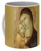 Madonna And Child Coffee Mug by Ansano di Pietro di Mencio