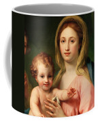 Madonna And Child Coffee Mug by Anton Raphael Mengs