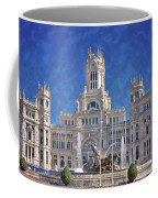 Madrid City Hall Coffee Mug by Joan Carroll