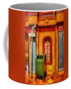 Mailman - No Parking Coffee Mug by Mike Savad