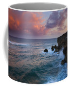 Makewehi Sunset Coffee Mug by Mike  Dawson