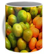 Mandarins And Tangerines Coffee Mug by Yali Shi