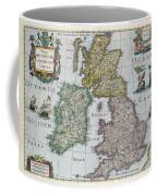 Map Of Britain Coffee Mug by English school