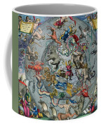 Map Of The Constellations Of The Northern Hemisphere Coffee Mug by Andreas Cellarius