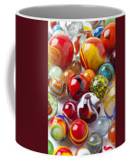 Marbles Close Up Coffee Mug by Garry Gay