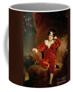 Master Charles William Lambton Coffee Mug by Sir Thomas Lawrence
