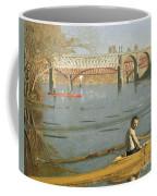 Max Schmitt In A Single Scull Coffee Mug by Thomas Eakins