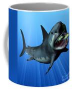 Megalodon Coffee Mug by Corey Ford