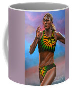 Merlene Ottey Coffee Mug by Paul Meijering