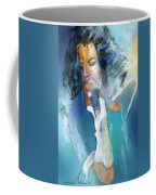 Michael Jackson 04 Coffee Mug by Miki De Goodaboom