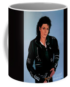 Michael Jackson Bad Coffee Mug by Paul Meijering